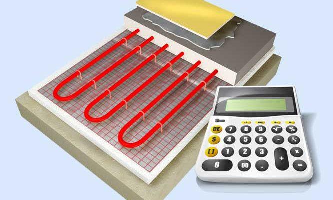 Калькулятор расчета теплого водяного пола