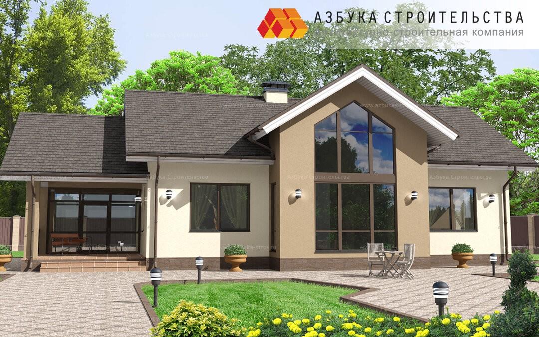 Популярный проект загородного дома