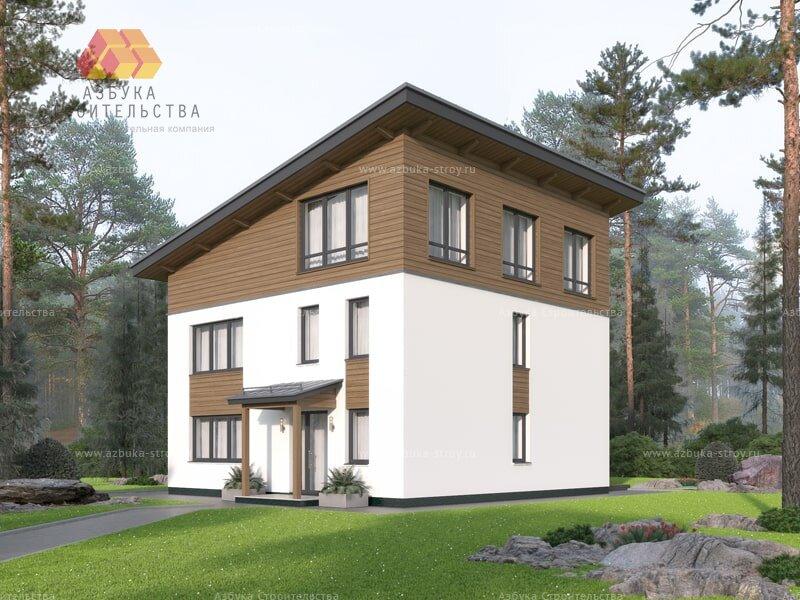Проект загородного дома в Стрельне