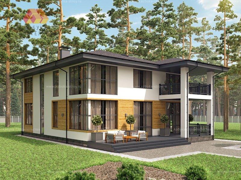 Проект: Современный и комфортный дом