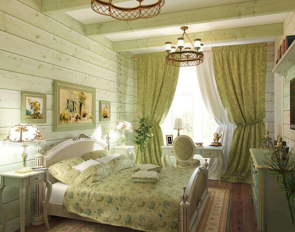 Спальня в стиле Прованс фото