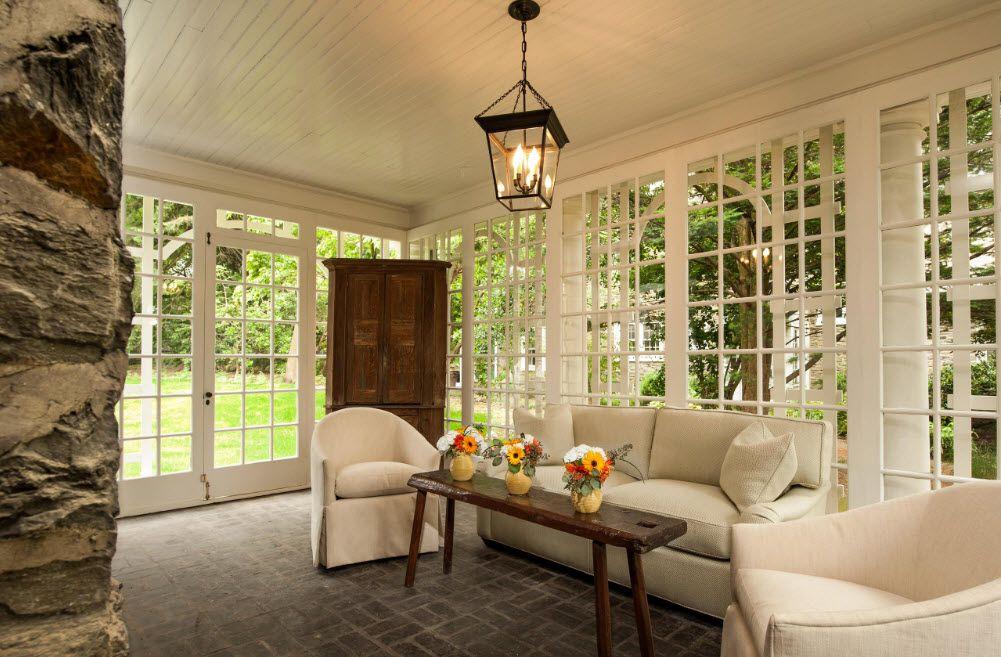 Деревянные окна и двери характерная черта стиля прованс