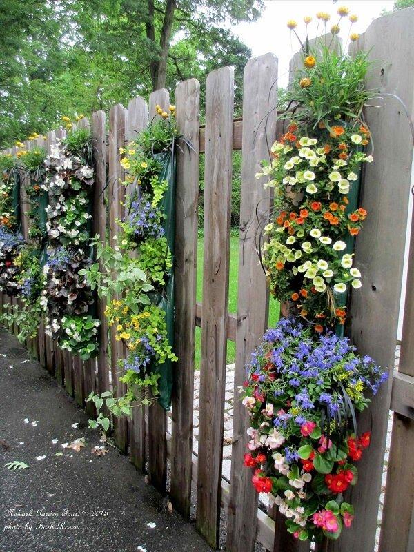 Как украсить забор: Декор для забора
