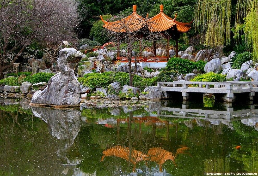 Японский сад – традиции и тонкости
