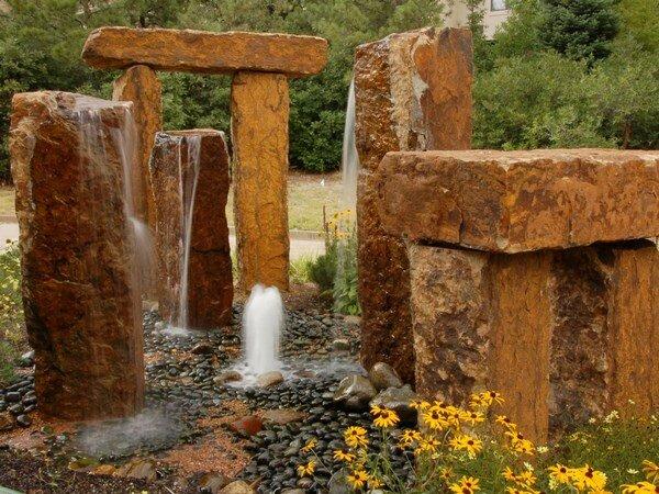Камни для ландшафтного дизайна – идеи для сада