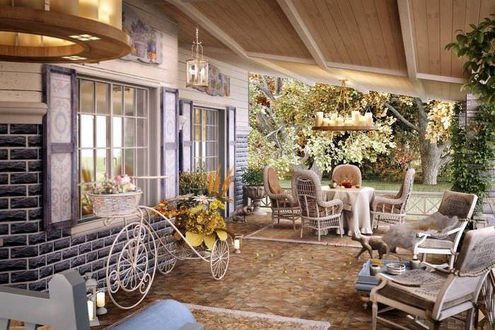 Интерьер в стиле «Прованс» в загородном доме