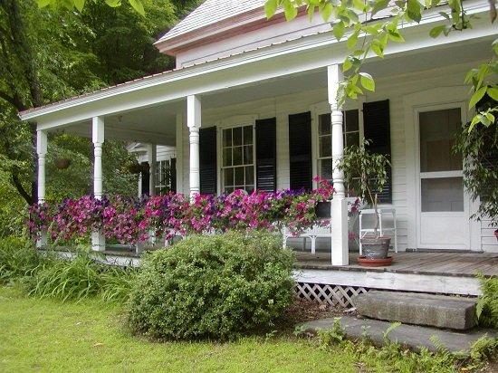 Терраса в саду: варианты оформления