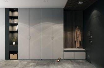Комфортный шкаф для прихожей: практичные способы размещения шкафов в прихожей