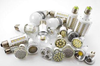Основные преимущества использования светодиодного освещения