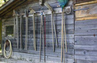 Строительство навеса для инструмента - инструкция, конструкция, виды навесов для инструментов.
